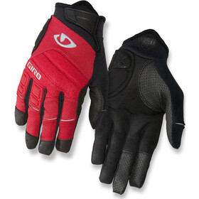 Giro Xen Gloves Herre dark red/black/gray